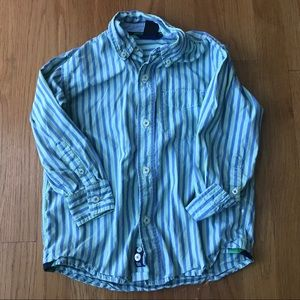 Boys Gap Button Down 4-5